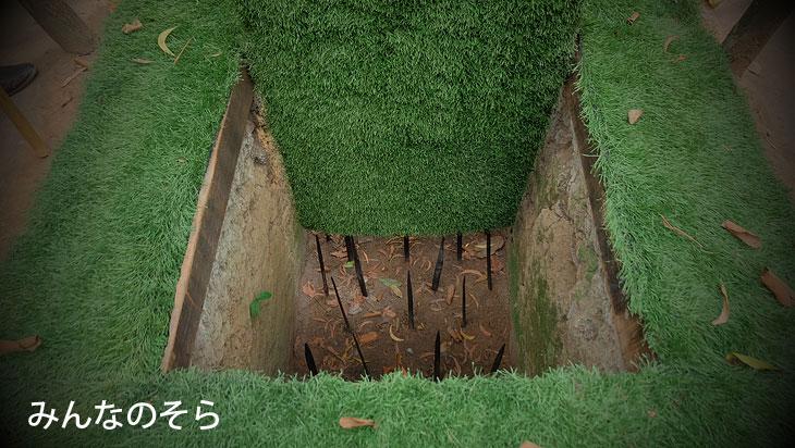 クチトンネルの日本語現地ツアーの口コミ(ホーチミン・べトナム)