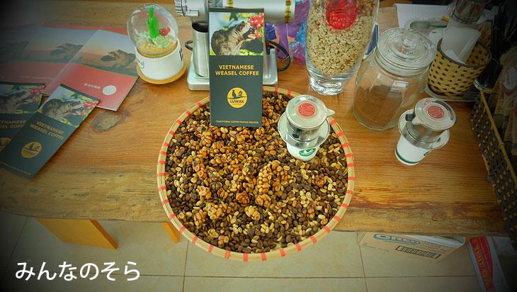 世界一おいしい!?「Luwak Coffee」@べトナムのグルメ【ハノイ編】8食