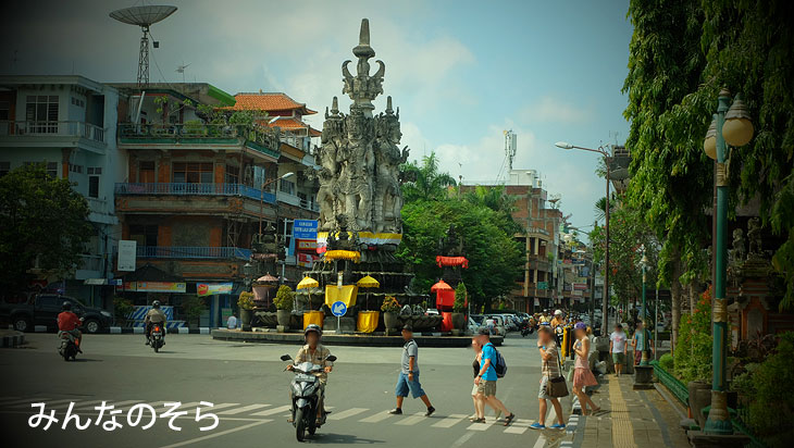 バリ島をレンタルバイクで旅する方法(インドネシア)