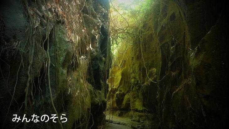 バリ島の秘境「Hidden Canyon Beji Guwang(ヒィデンキャニオン ベジグワン)」を渓流探検(バリ島)
