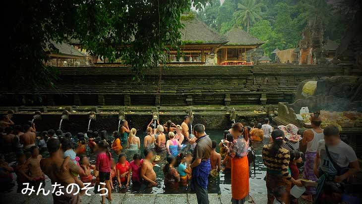 【世界遺産】ティルタウンプル寺院(Pura Tirta Empul)