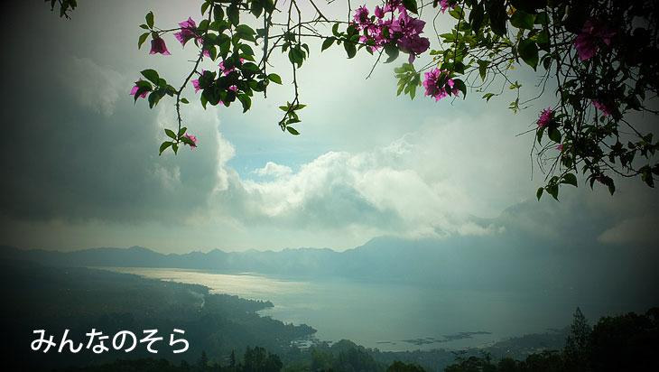 キンタマーニ高原で、バトゥール湖の温泉!世界遺産ウルン・ダヌ・バトゥール寺院に(バリ島)