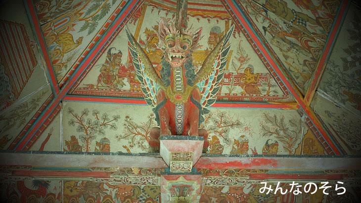 バリ島最後の王朝!クルンクン王朝の跡「クルタ・ゴサ」(Taman Kertha Gosa)の口コミ(バリ島)