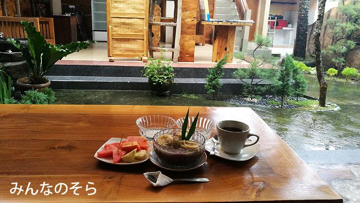 朝ご飯は「Black Rice Pudding」?お米が甘い@バリ島ウブドを1泊2日で観光したコースとスケジュール