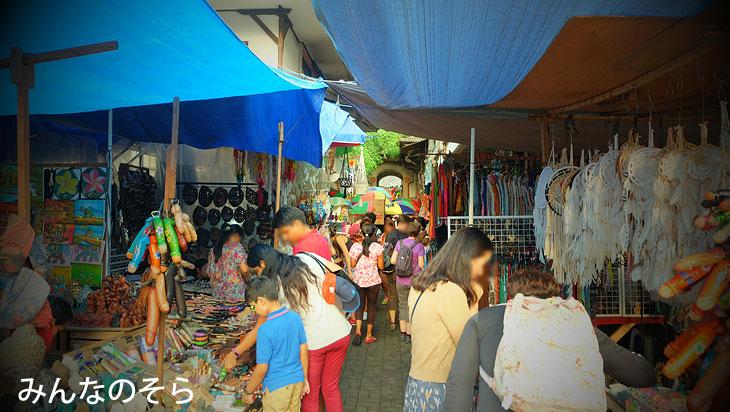 ウブド市場@バリ島ウブドを1泊2日で観光したコースとスケジュール