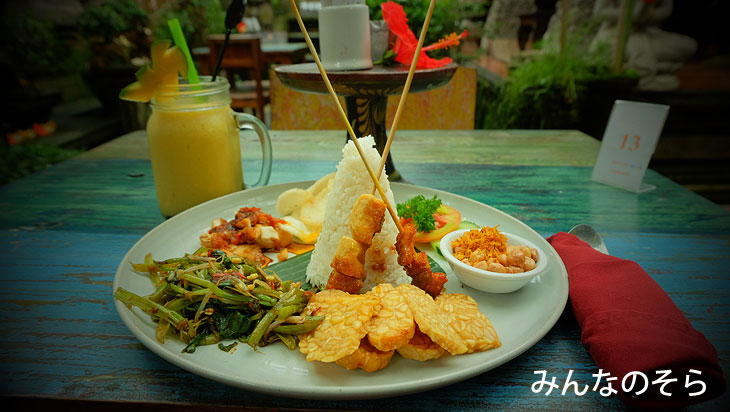 バリ島を一人で旅したご飯、食事。おいしい?まずい?おすすめグルメも!【全18食】