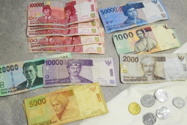 バリ島でATMで、クレジットカードでキャッシング!両替せずに、現金をゲット。