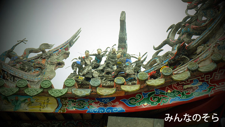 台北観光の鉄板!艋舺「龍山寺」を参拝(台湾)