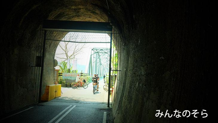 3.后豊鉄馬道へ!鉄道跡をサイクリング