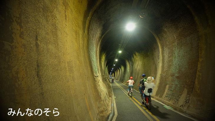 后豊鉄馬道でサイクリング→月眉観光糖廠(製糖工場跡地)台中/台湾