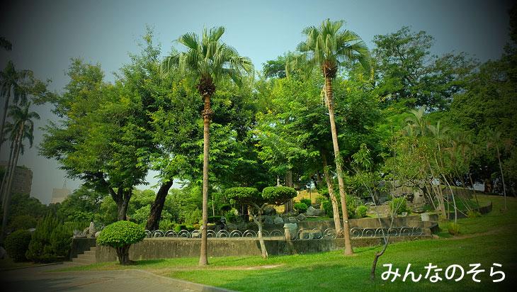 台中公園をのんびり散策