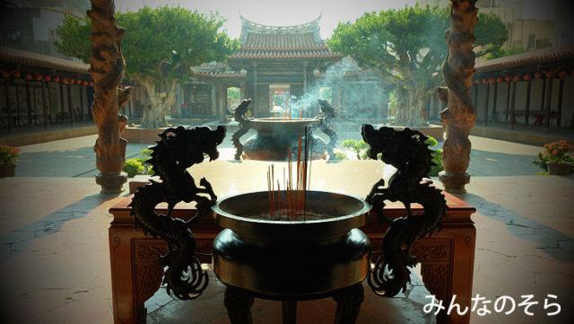 台湾第一級古蹟!龍山寺の彫刻に惚れる@鹿港観光