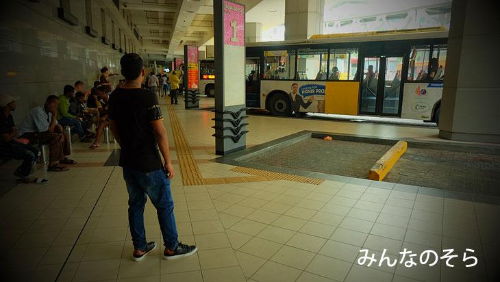 シンガポール⇔ジョホールバルを路線バスでアクセス