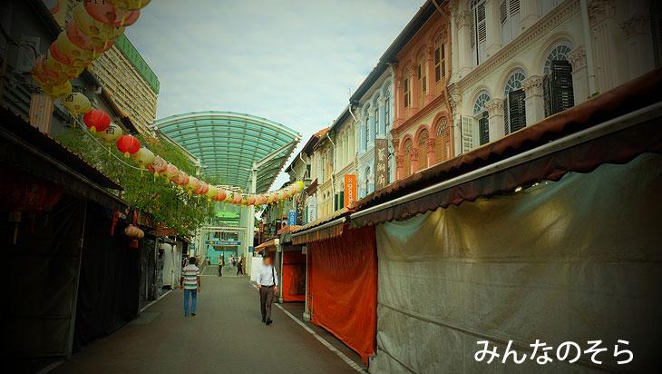 これもプラナカン?中華街の華麗な建物たち