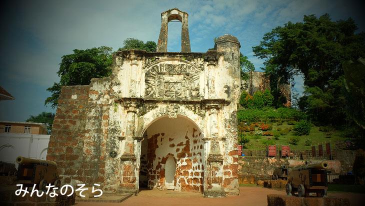 要塞の史跡!サンチャゴ砦