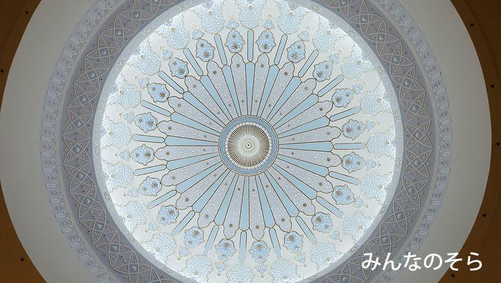 イスラム美術博物館の屋根裏が美しい