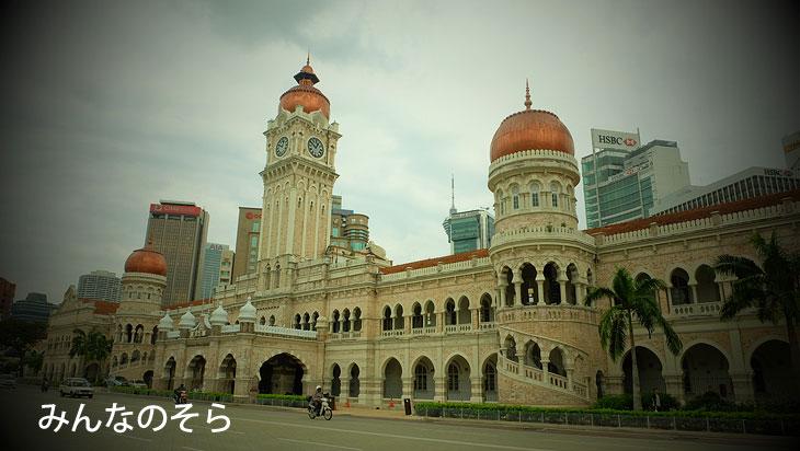 スルタン・アブドゥル・サマド・ビル(Masjid Jamek Sultan Abdul Samad)
