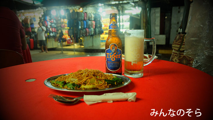 マレーシアの超定番料理!ミーゴレンを中華街で