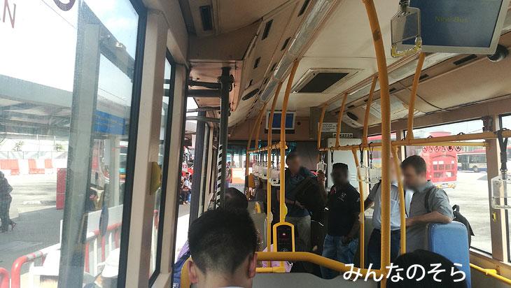 バタワース駅(BUTTERWORTH)からバスに乗って、フェリー乗り場へ