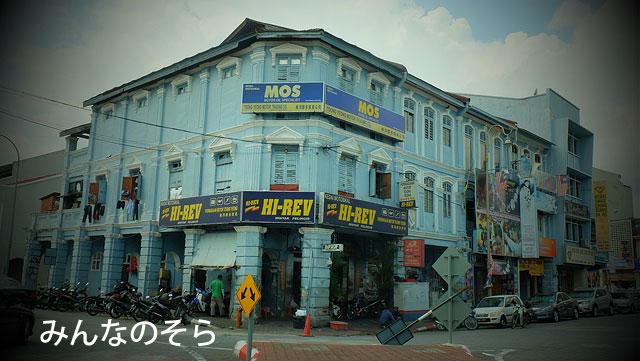 大急ぎでイポー駅まで写真と撮りつつ戻ってきた(マレーシア)