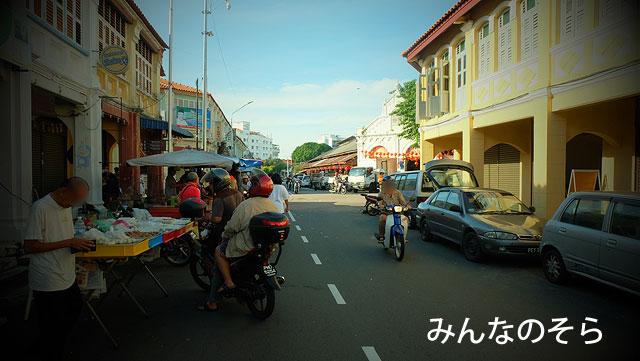 ペナン島(マレーシア)で、レンタルバイクを運転する時の注意点