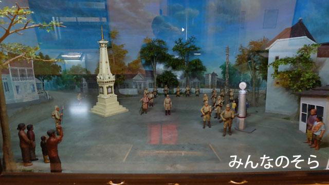 フレデブルグ要塞博物館で、インドネシアの独立闘争に触れる