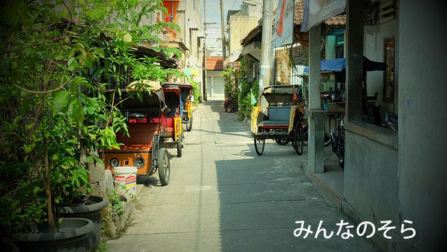 歩くだけで楽しい!ジョグジャカルタの路地
