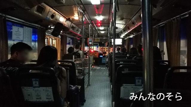 ドンムアン空港からバンコク市内まで【A1バス】で移動