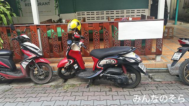 チェンマイでレンタルバイクを借りる方法→宿泊先に頼む!が正解