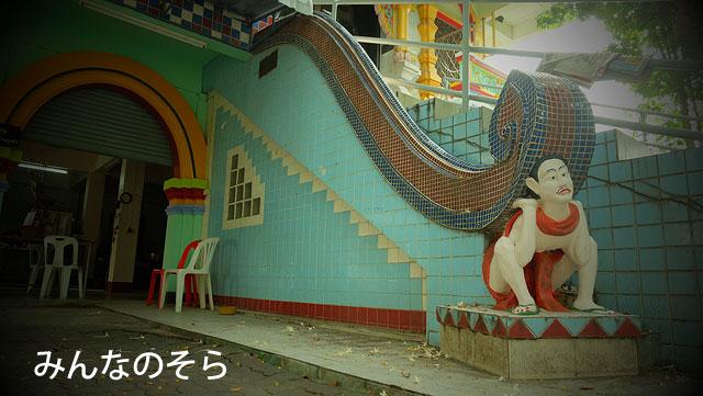 ひょうたん型の仏塔!ワット・クータオ