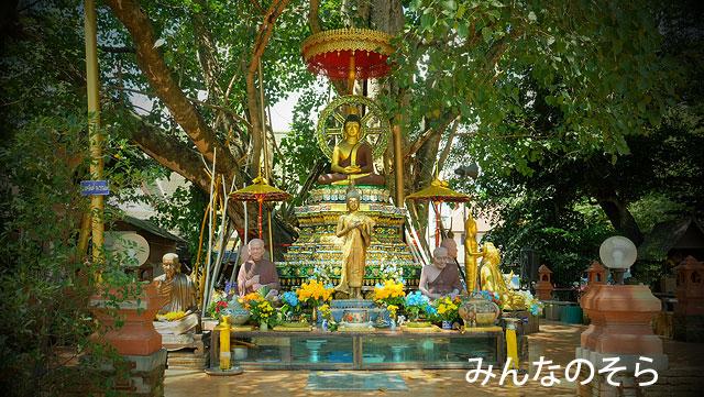 ワット・チェット・ヨート(Wat Chet Yot)は「チェット・ヨート(7つの尖塔)」以外も!