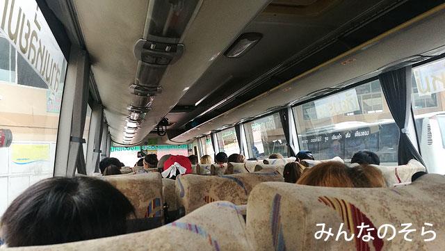 チェンマイ→チェンライのA-Classバスの乗り心地は?