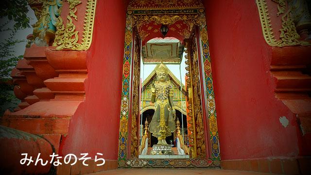 チェンライのお寺
