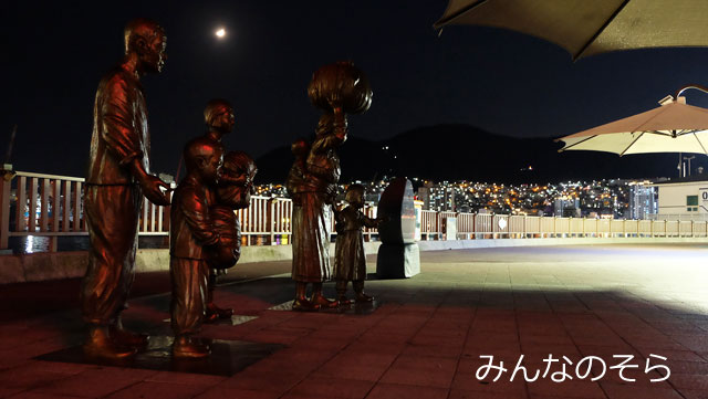 釜山(南浦洞)夜の観光!3時間モデルコースになるかな?