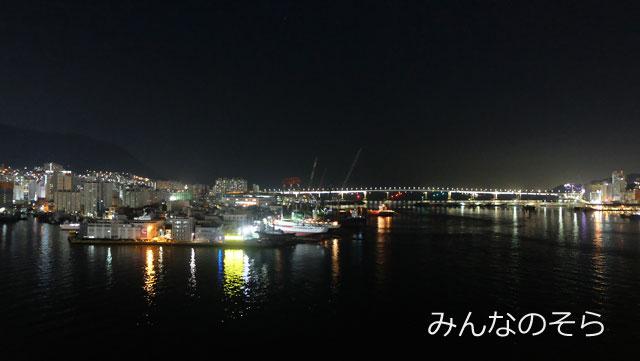 チャガルチ市場の屋上から、夜景見学