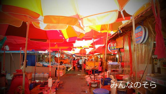 チャガルチ市場は閉まっていたけど、周辺を散策
